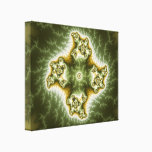 Vegetable Cell - Fractal Art Canvas Print