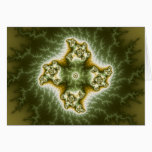 Vegetable Cell - Fractal Art Card