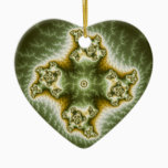 Vegetable Cell - Fractal Art Ceramic Ornament