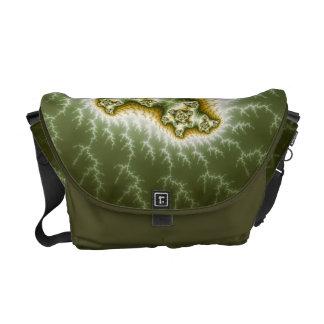 Vegetable Cell - Fractal Art Courier Bag
