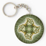 Vegetable Cell - Fractal Art Keychain