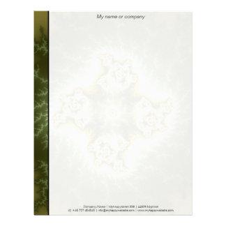 Vegetable Cell - Fractal Art Letterhead