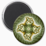 Vegetable Cell - Fractal Art Magnet