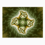 Vegetable Cell - Fractal Art Postcard