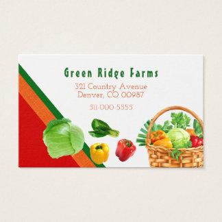 Vegetable Design Business Card