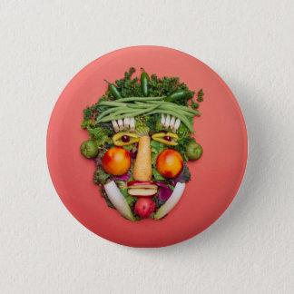 Vegetable Face Button