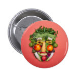 Vegetable Face Buttons