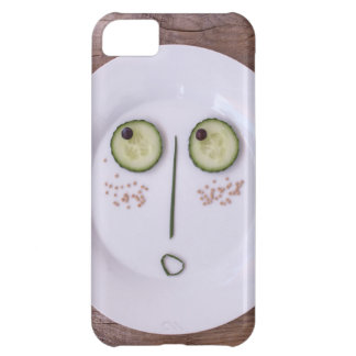 Vegetable Face iPhone 5C Case