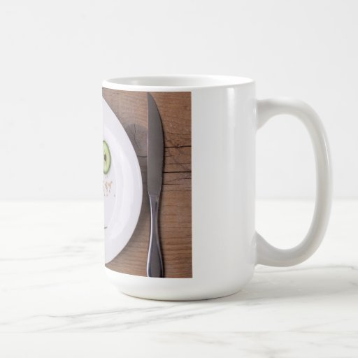 Vegetable Face Classic White Coffee Mug