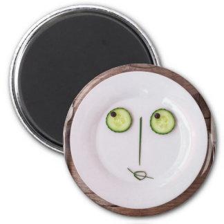 Vegetable Face Fridge Magnet