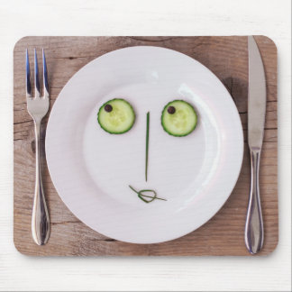 Vegetable Face Mouse Pad