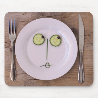 Vegetable Face Mouse Pads