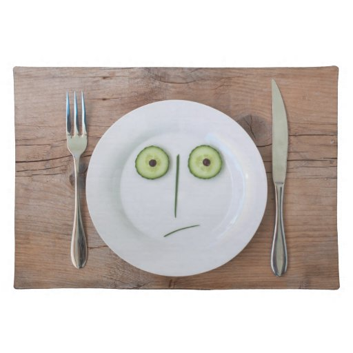 Vegetable Face Placemat