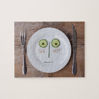 Vegetable Face Jigsaw Puzzle