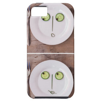 Vegetable Faces iPhone 5 Covers