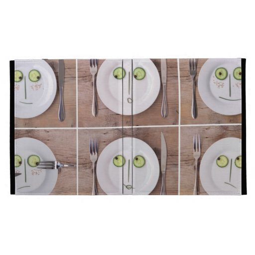 Vegetable Faces iPad Cases