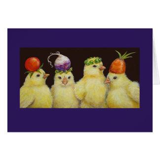 Vegetable Festival Peeps card