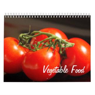 Vegetable Food Wall Calendar
