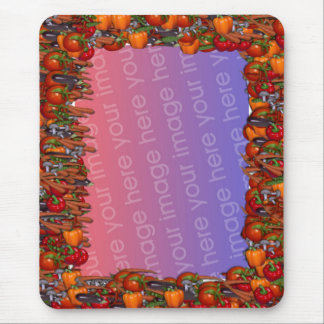 Vegetable Frame Mouse Pad