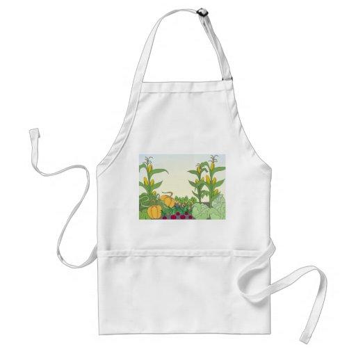 Vegetable Garden Adult Apron