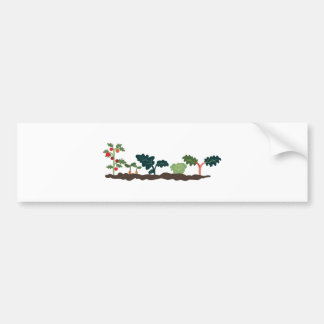 Vegetable Garden Bumper Sticker