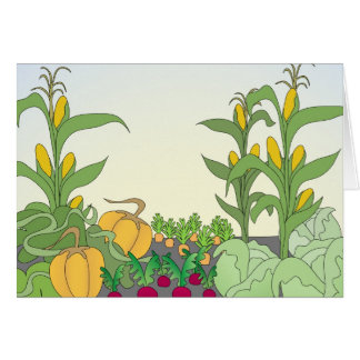 Vegetable Garden Card