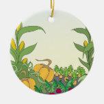 Vegetable Garden Christmas Tree Ornament