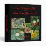 Vegetable Garden Journal 3 Ring Binder