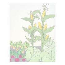 Vegetable Garden Letterhead