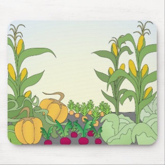 Vegetable Garden Mouse Pad