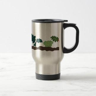 Vegetable Garden 15 Oz Stainless Steel Travel Mug
