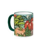 Vegetable Gardener Ringer Mug
