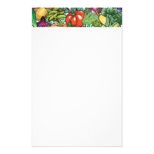 Vegetable Gardener Stationery