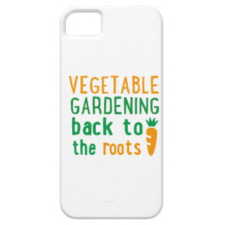 vegetable gardening bake ton the roots iPhone 5 case