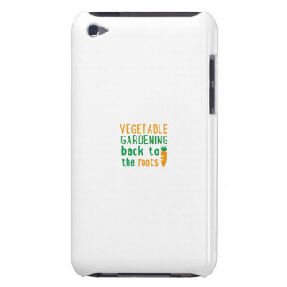 vegetable gardening bake ton the roots iPod Case-Mate cases