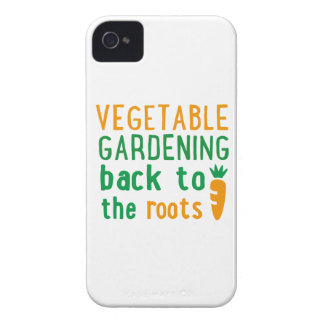 vegetable gardening bake ton the roots iPhone 4 Case-Mate case