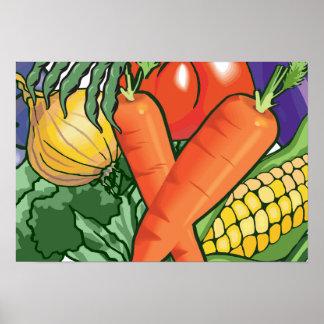 Vegetable Gardening Poster