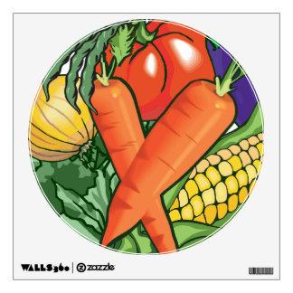 Vegetable Gardening Wall Graphics