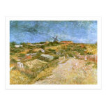 Vegetable Gardens in Montmartre, Vincent van Gogh Post Card