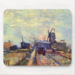 Vegetable gardens on the Montmartre by van Gogh Mouse Pad