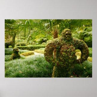 Vegetable gorilla posters