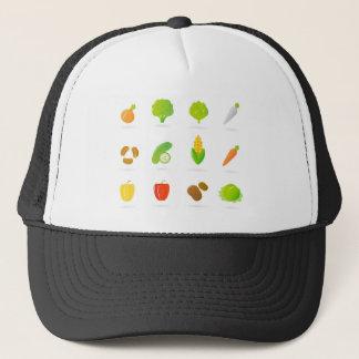 Vegetable hand-drawn Art edition : Tshirts Trucker Hat