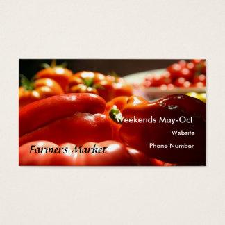 Vegetable Harvest Business Card