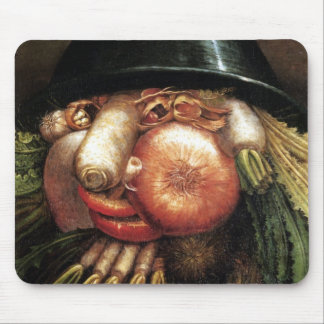 Vegetable Head Mouse Pad