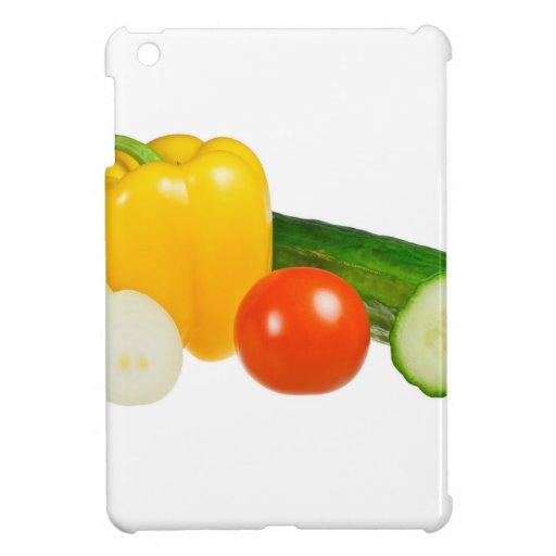Vegetable isolated iPad mini case