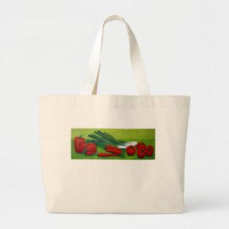 Vegetable Large Tote Bag
