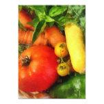 Vegetable Medley Invitations