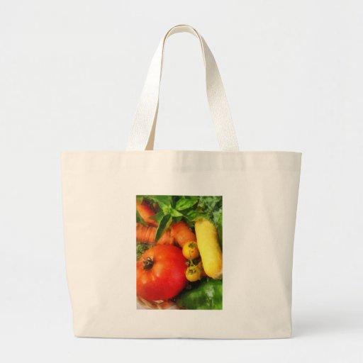 Vegetable Medley Jumbo Tote Bag