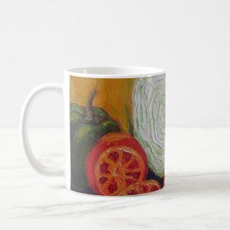 Vegetable Medley Classic White Coffee Mug