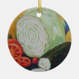 Vegetable Medley Ornament